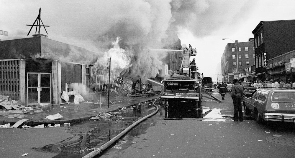 How Bad Data Caused the Fires That Leveled The Bronx in the 1970s