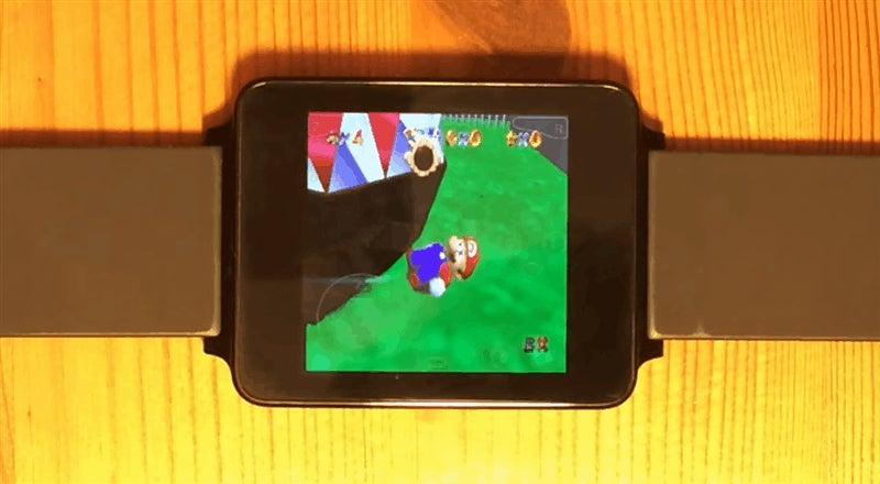 Oh, It's N64 Games, Running On A Watch