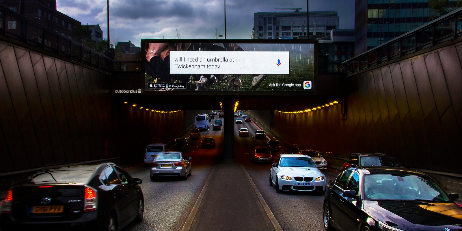 Google's Testing Web-Style Responsive Ads on Huge London Billboards