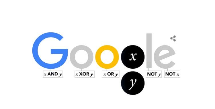 Today's Google Doodle Celebrates the Genius of Boolean Algebra