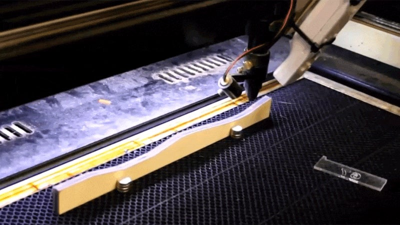 Oh Hey, It's A Laser Cutter... Using A Wiimote