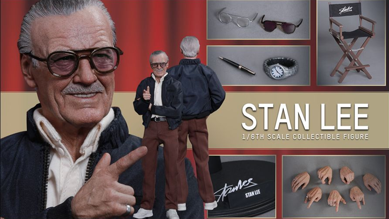 Even Stan Lee Has a Hot Toys Action Figure Now