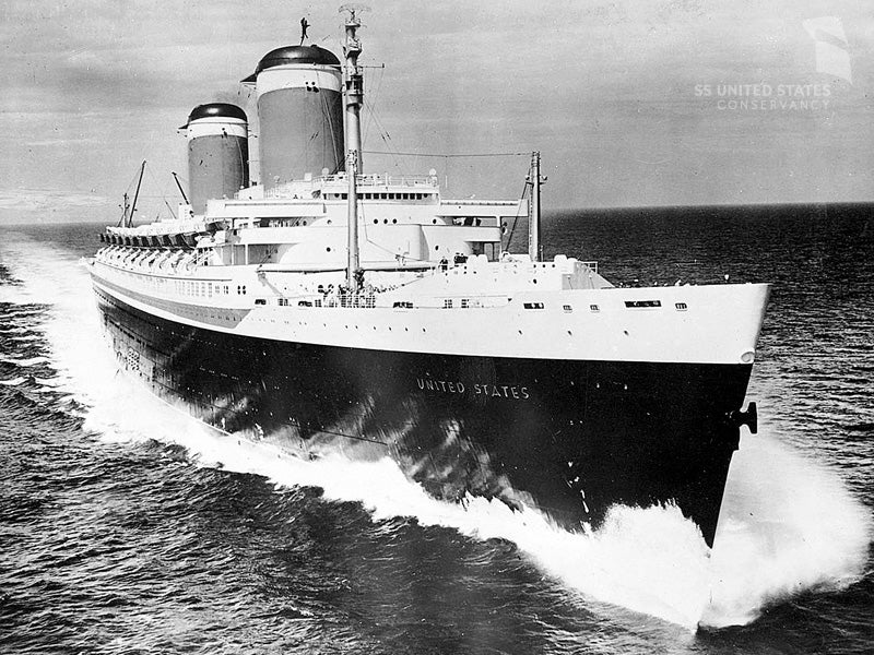 The Uncertain Fate of the Fastest Ocean Liner Ever Built