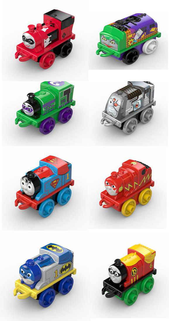 Oh No, There's Going To Be More Of Those Horrifying Thomas The Tank Engine/DC Comics Mashup Toys
