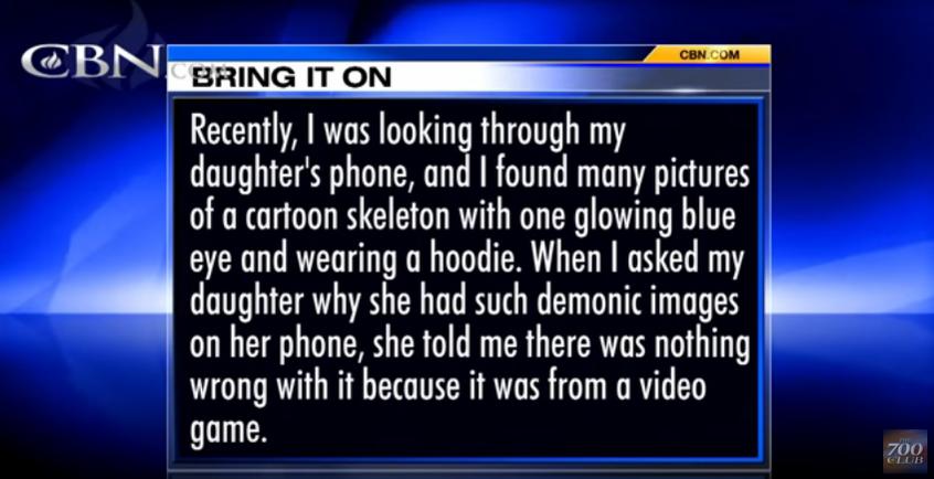 Parent Needs Christian News Show's Advice About Undertale