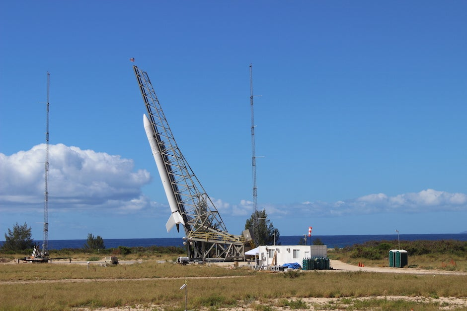 Painful Failure for First Launch of U.S. Air Force Rocket from Hawaii