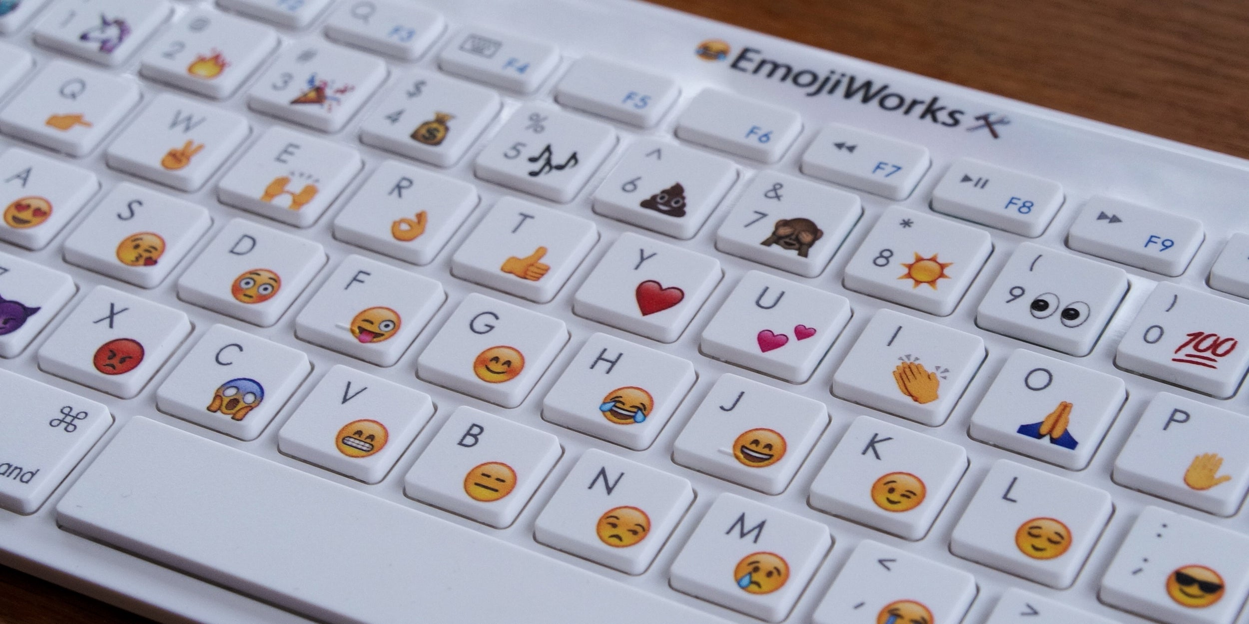 You Can Finally Buy a Dedicated Hardware Emoji Keyboard