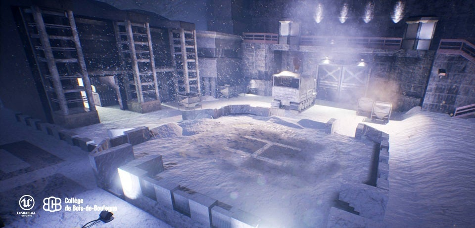 Students Remake Metal Gear Solid's Heliport in Unreal Engine 4