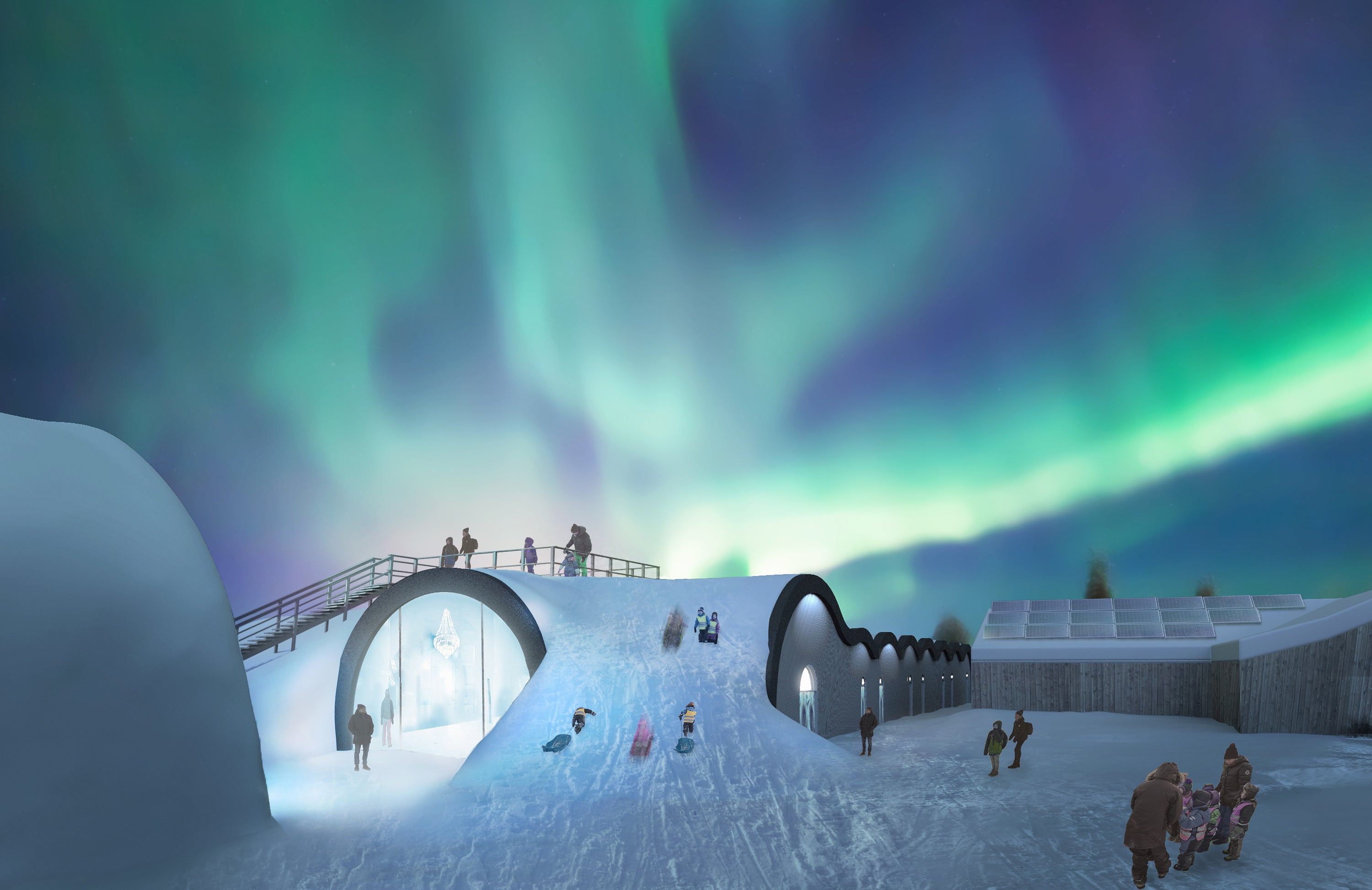 Solar Power Will Keep This Ice Hotel Nice and Cold All Year