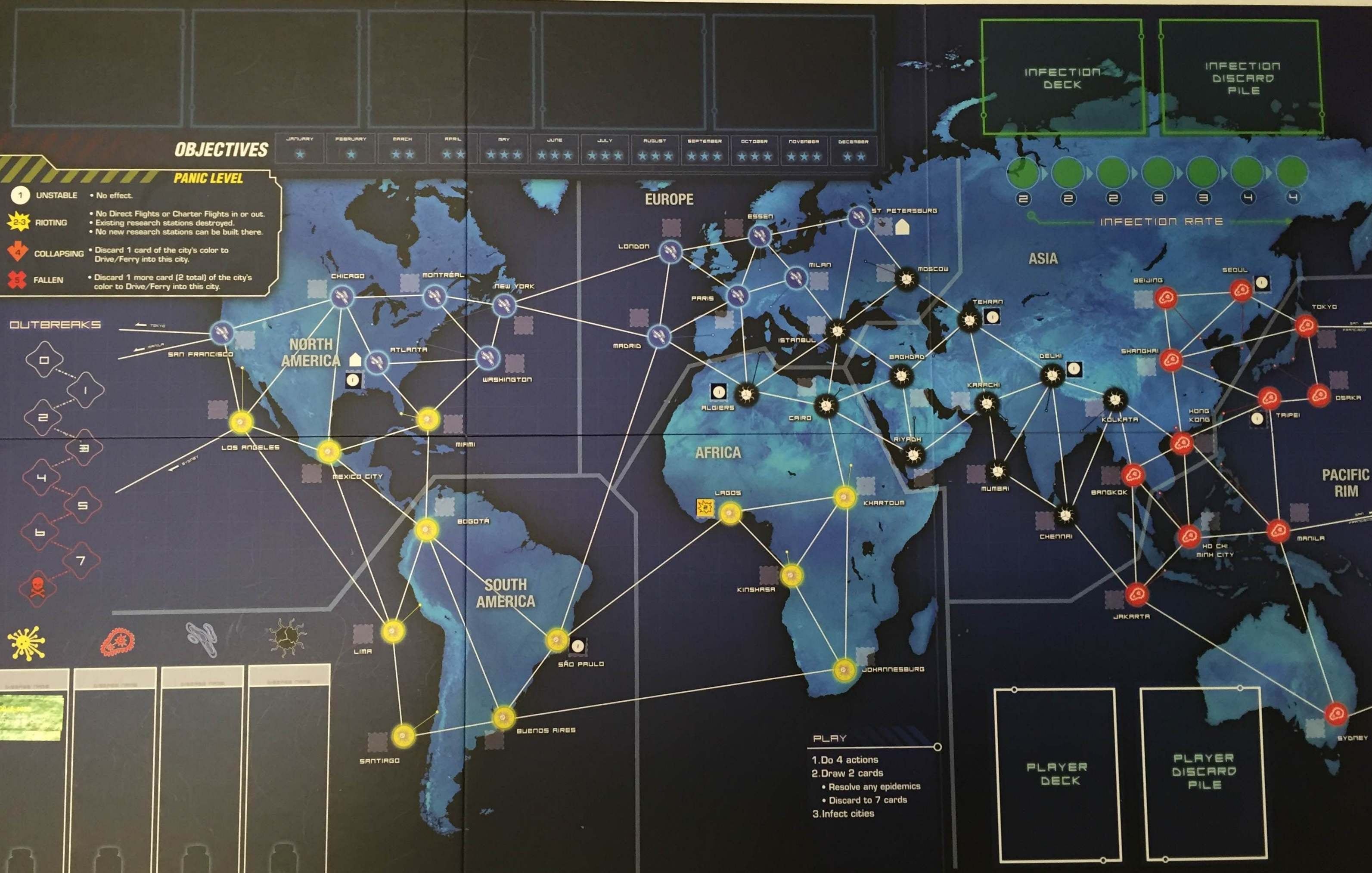 The Great Board Game Pandemic Is Even Better With The Risk Legacy Treatment