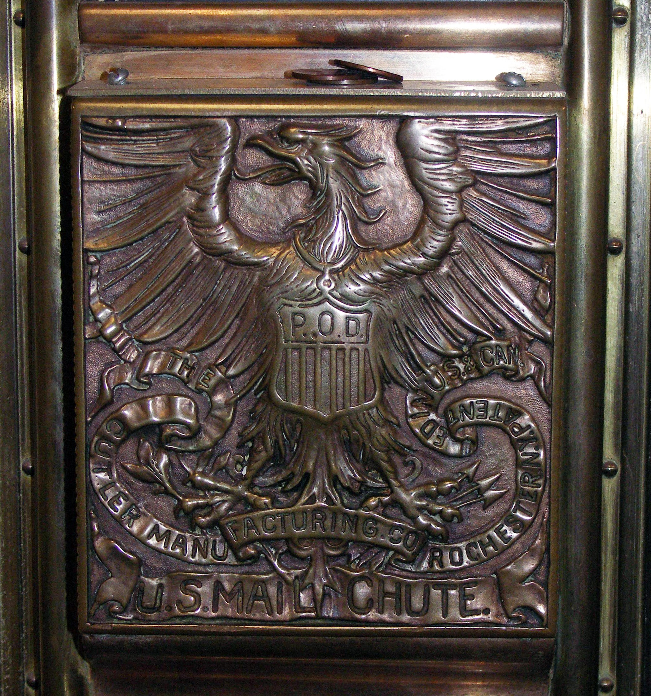 Feast Your Eyes on NYC's Remarkably Beautiful Mail Chutes