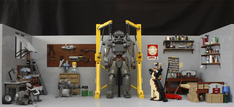 Fallout 4 LEGO Garage Has Everything The Sole Survivor Needs