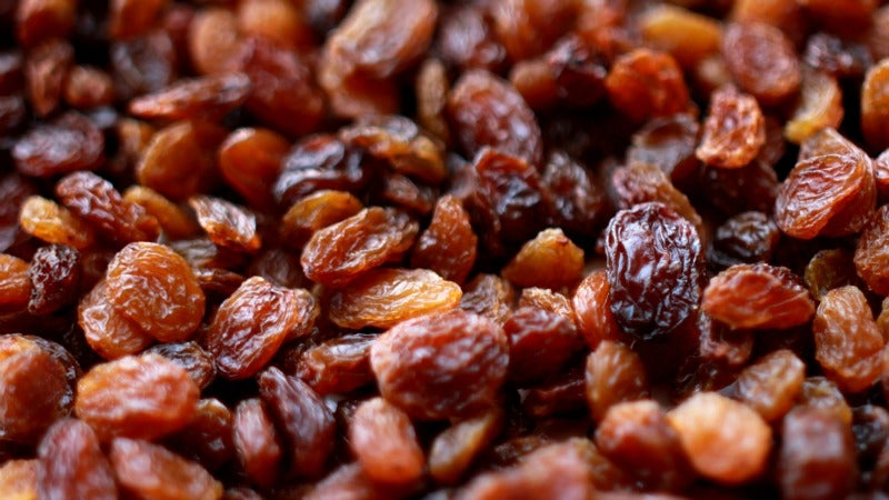 Soften Dried Fruit With A Bit Of Hot Water (or Booze)
