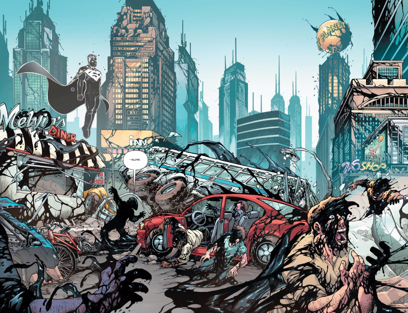 This Week's Superman Comic Brings Back the Jerk Man of Steel