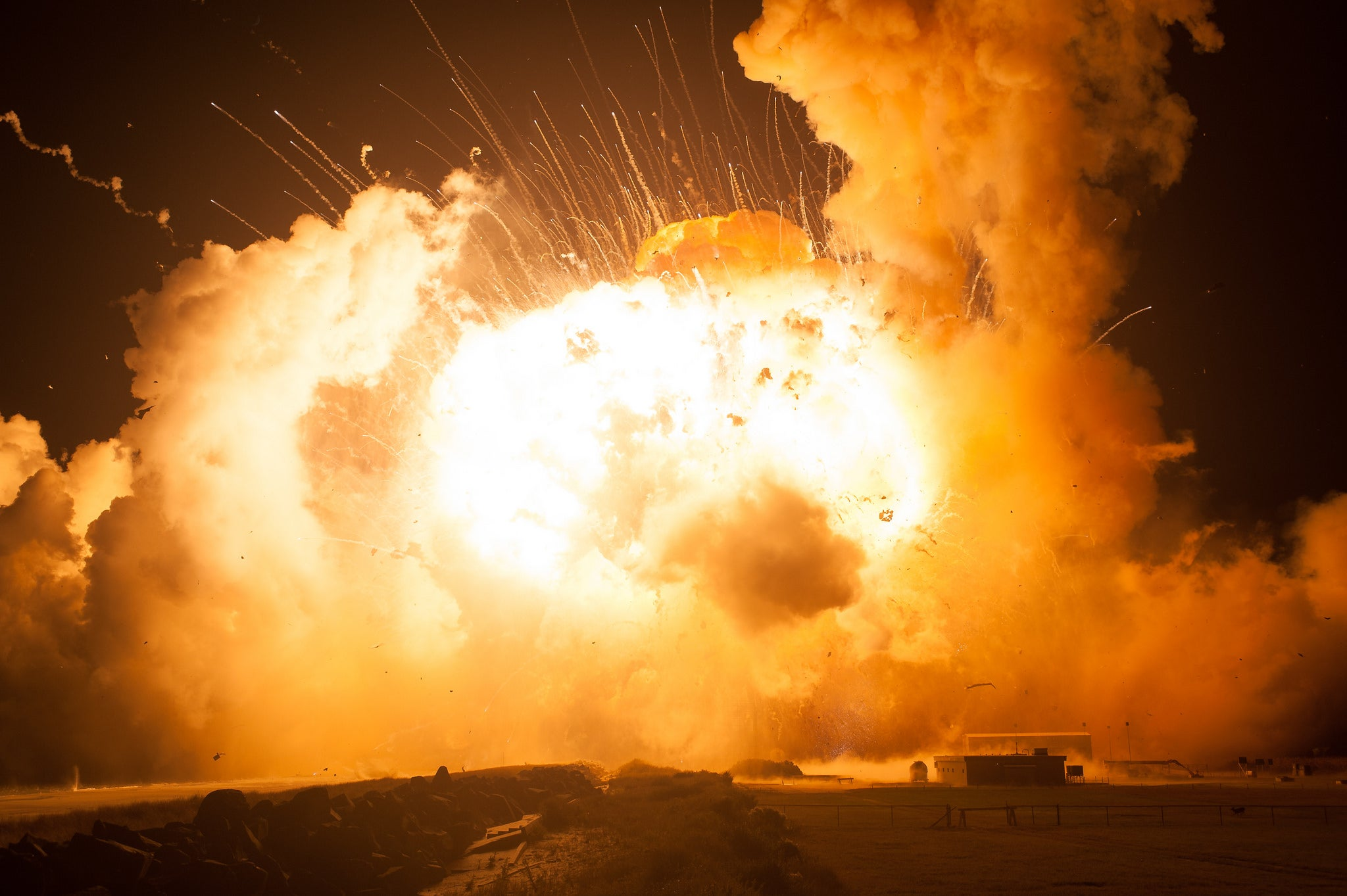 NASA Releases Harrowing New Photos of Last Year's Antares Rocket Explosion