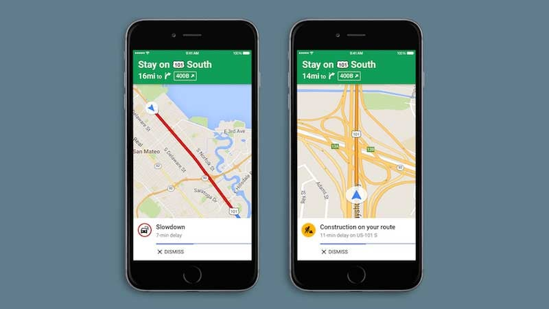 Google Maps for iOS Adds Spoken Traffic Alerts