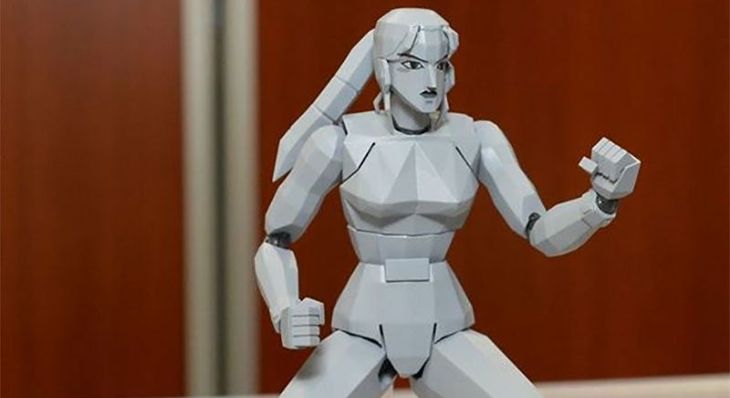Sega Action Figures Are Hilariously Polygonal
