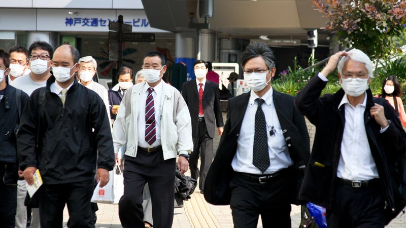 Sickness Masks Sold in Japan as Beauty Products