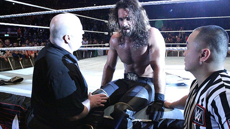 Why Bad Pro Wrestling Injuries Can Often Be Good News