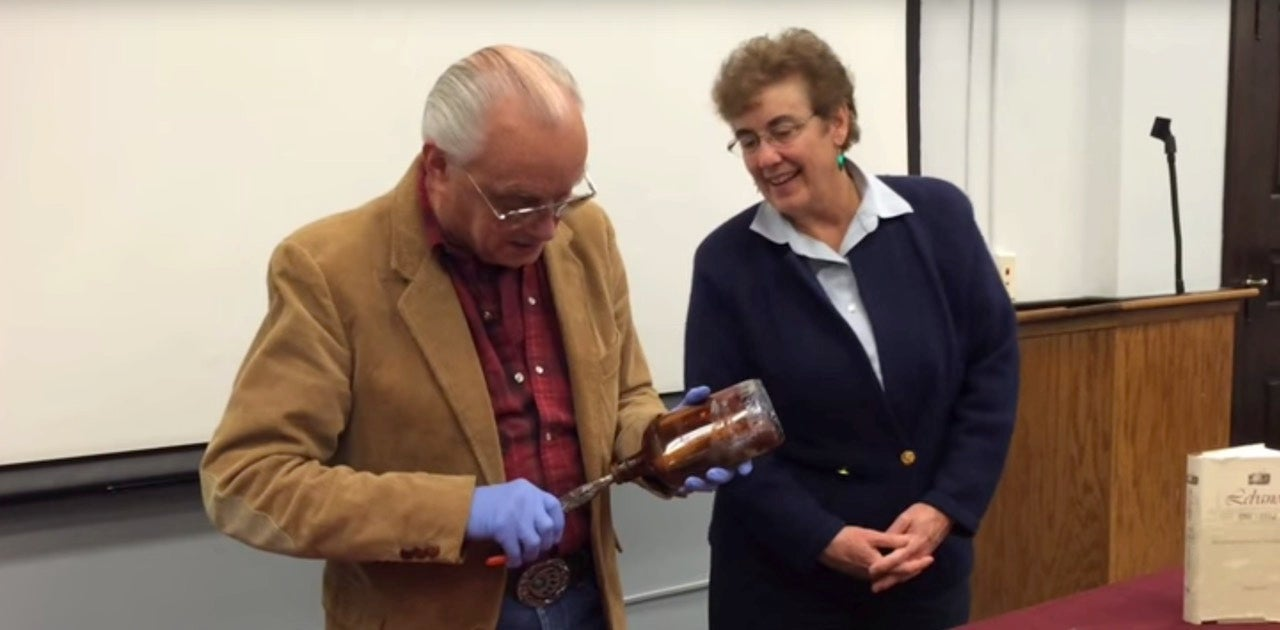 Time Capsule Opened, Contains Punchline For 71-Year-Old Joke