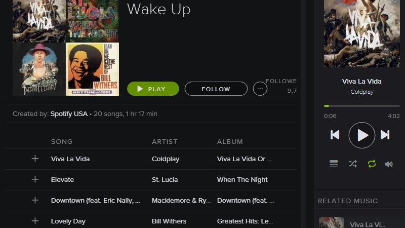 These Are the Best Songs to Wake You in the Morning, According to Spotify