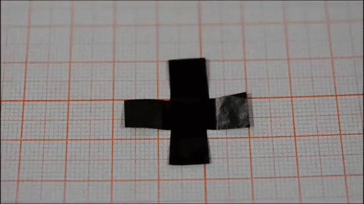 This Graphene-Based Paper Can Walk, Fold and Twirl on Its Own