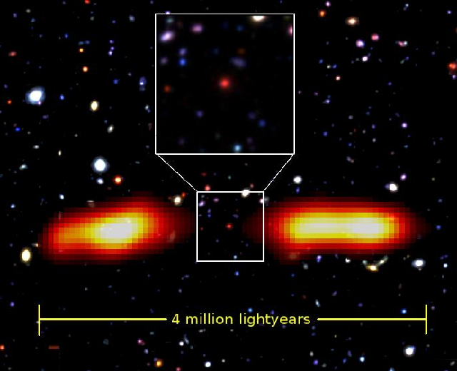 Astronomers Found the Ghost of a Rare Giant Radio Galaxy