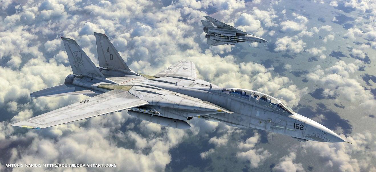 Hot Warplane Art Dump