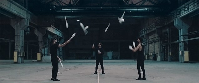 The hypnotising art of juggling has never looked so cool