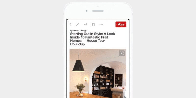 Pinterest Now Has Visual Search and It's Kinda Smart