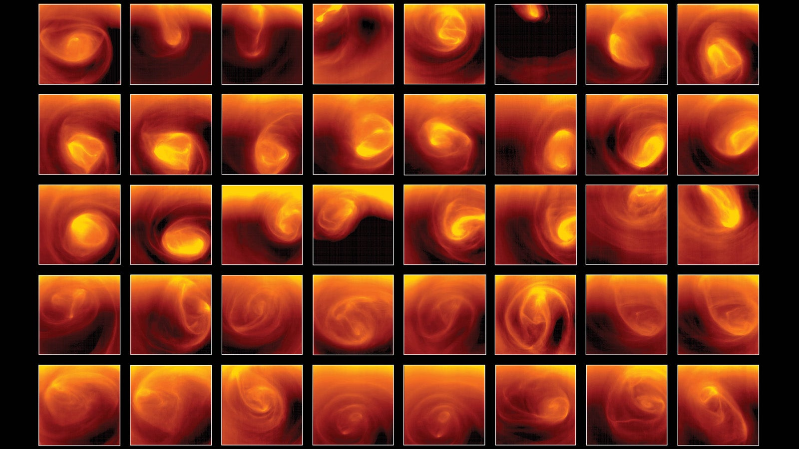 Venus' South Pole Is an Ever-Swirling Hellish Mess