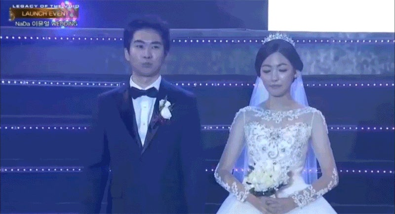 Blizzard Held a StarCraft Wedding in South Korea