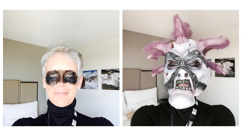 Jamie Lee Curtis Went to BlizzCon as World of Warcraft Undead