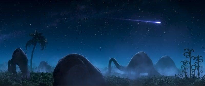 Pixar's Dino Design Kicks It Old School In The Good Dinosaur