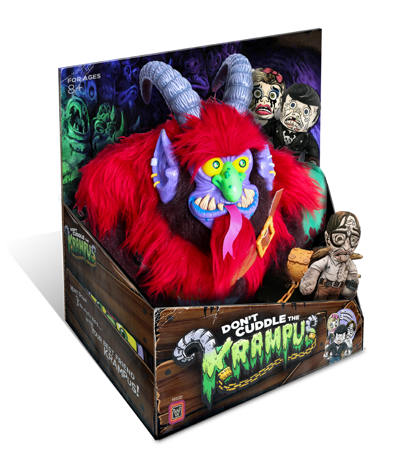 Warpos Latest Toy Is A Creepy Cuddly Krampus Gizmodo Australia
