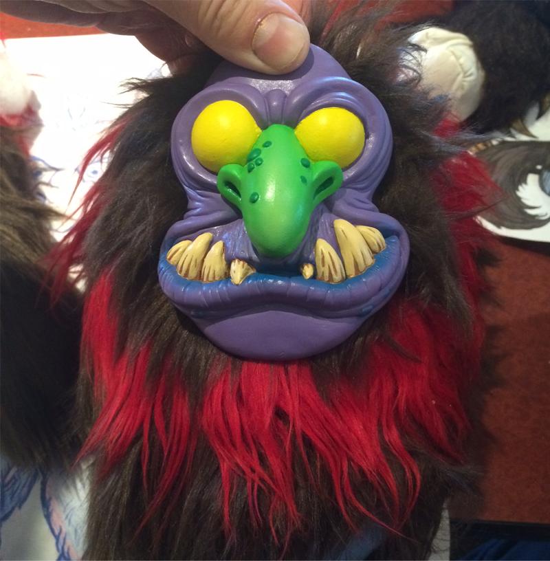 Warpo's Latest Toy Is a Creepy, Cuddly Krampus