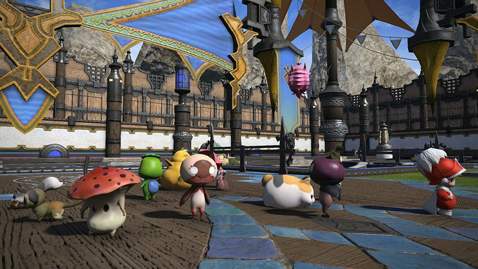 Final Fantasy Update Adds New Mini-Game