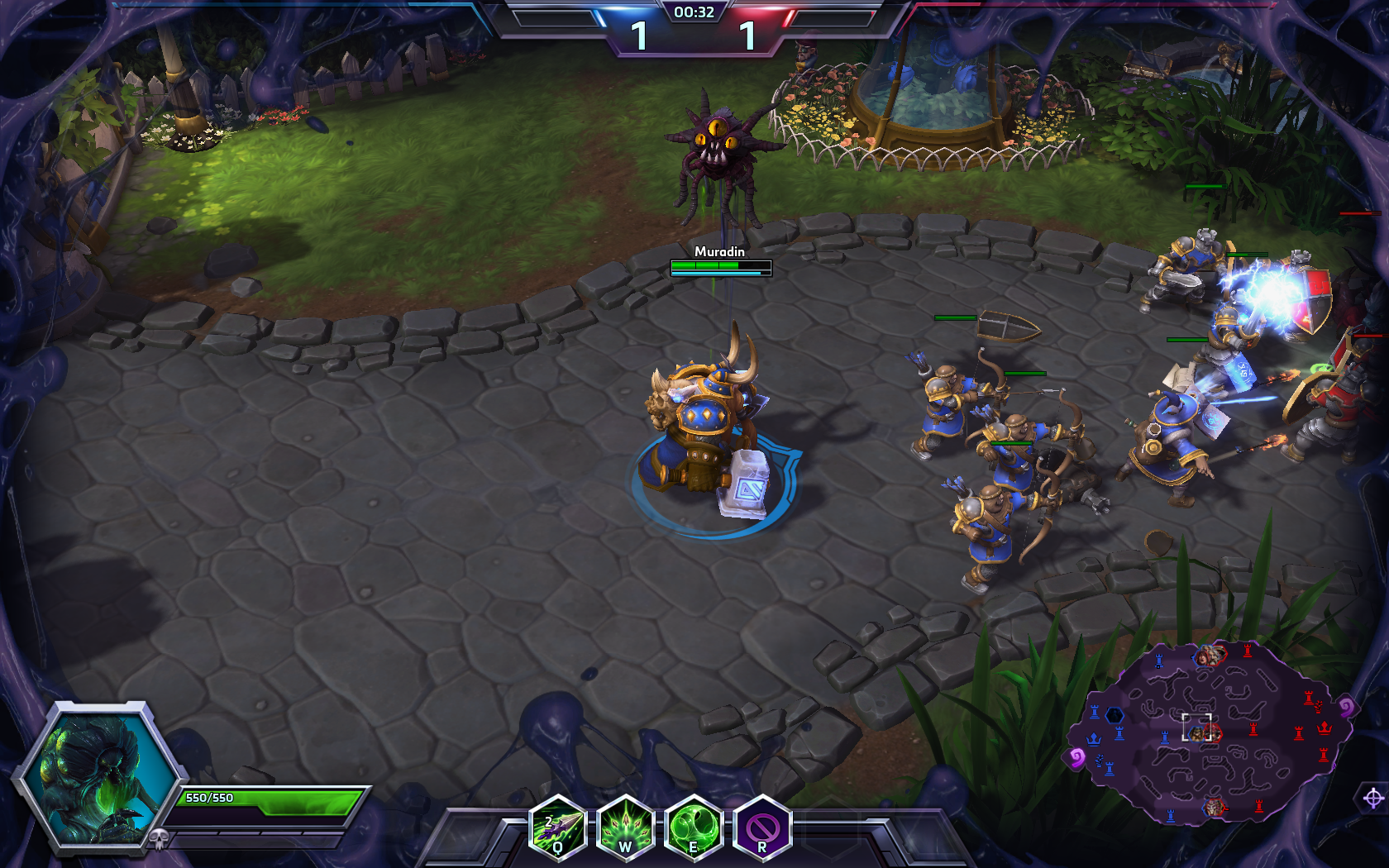 Nobody Expects To Be Killed By Abathur In Heroes of the Storm