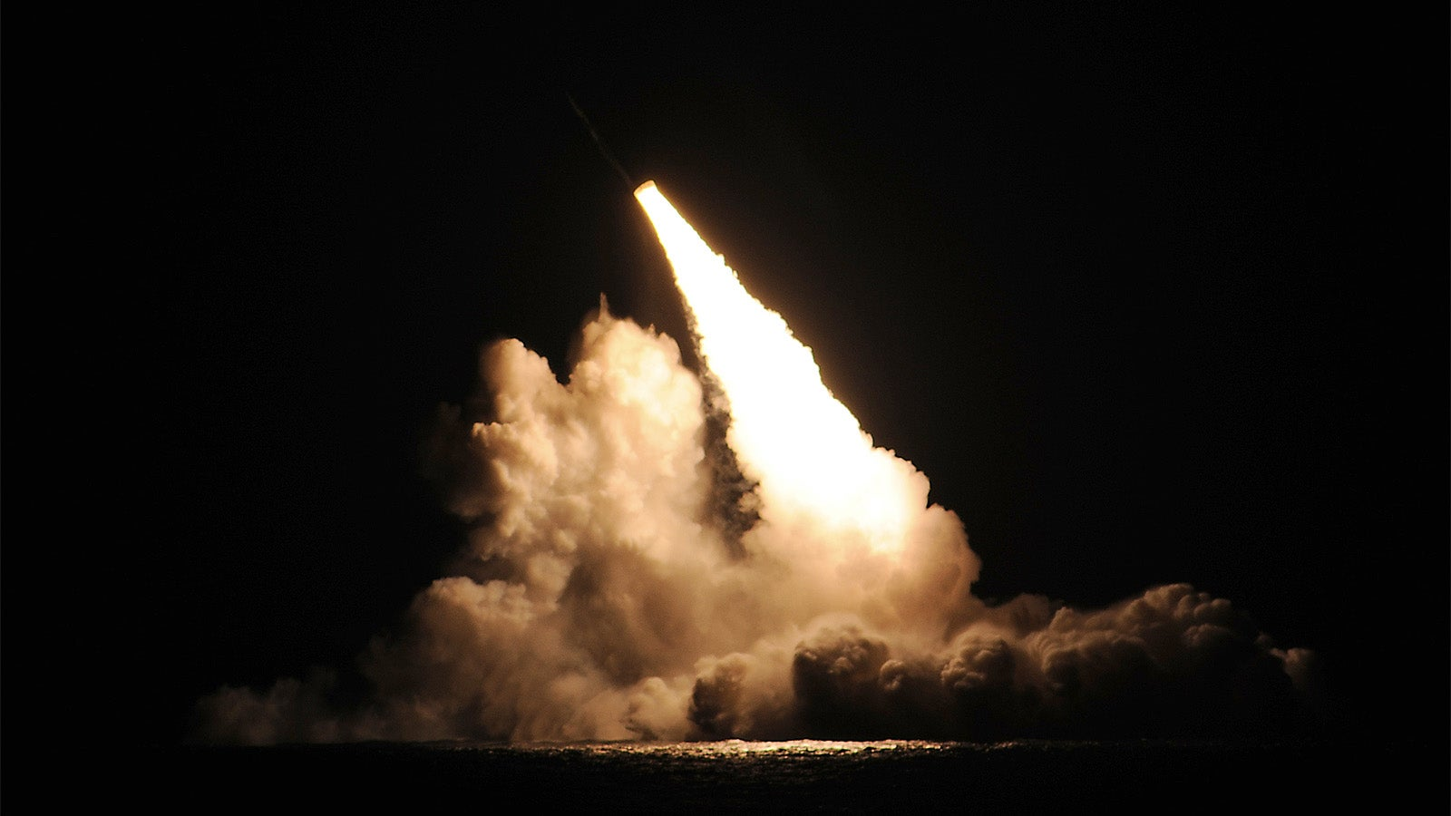 Here Is the Missile That Caused A UFO Panic Along The Coast Of California