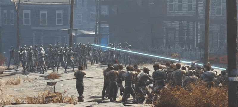 100 Fallout 4 Enemies Battle To The Death