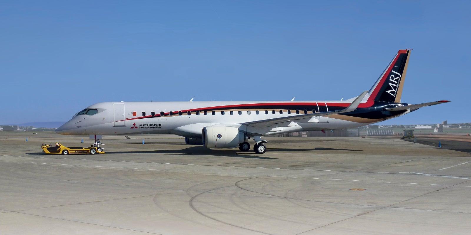 Japan's First Ever Passenger Jet Just Took Its Maiden Flight