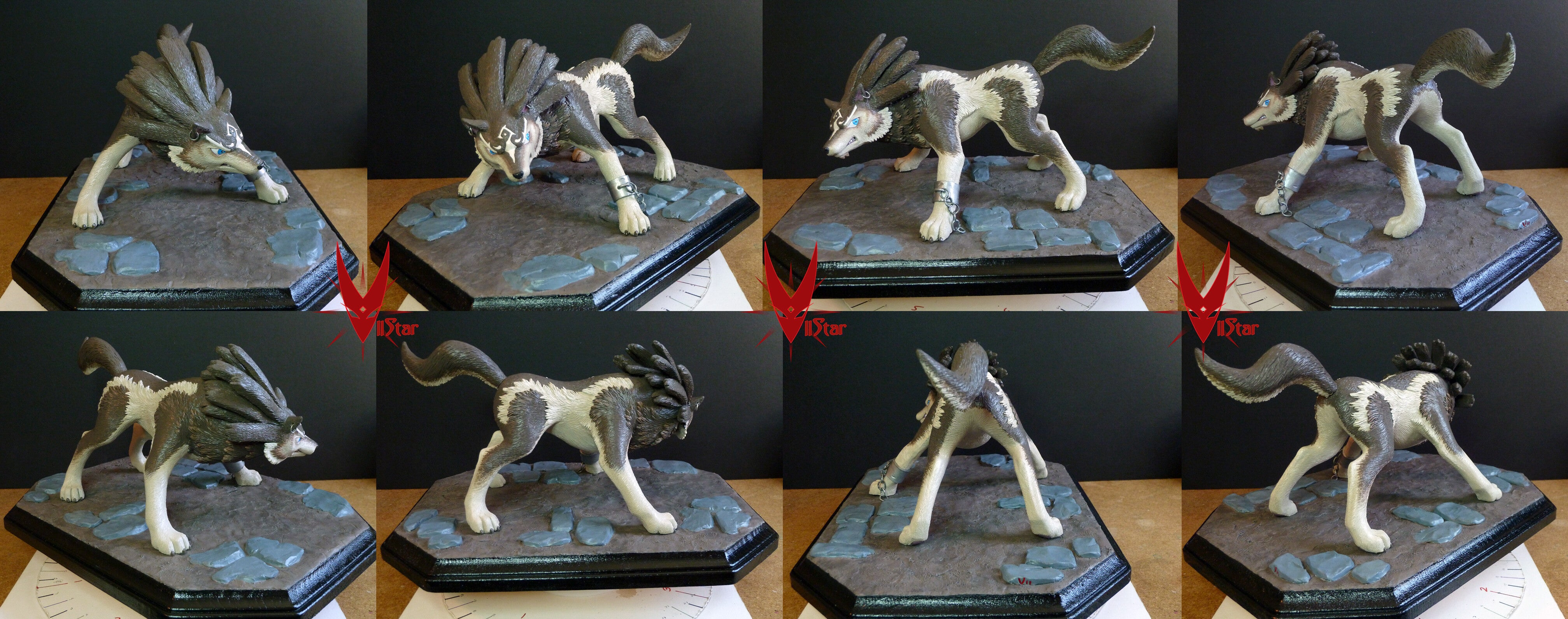 Wolf Link from Twilight Princess Makes a Badass Statue