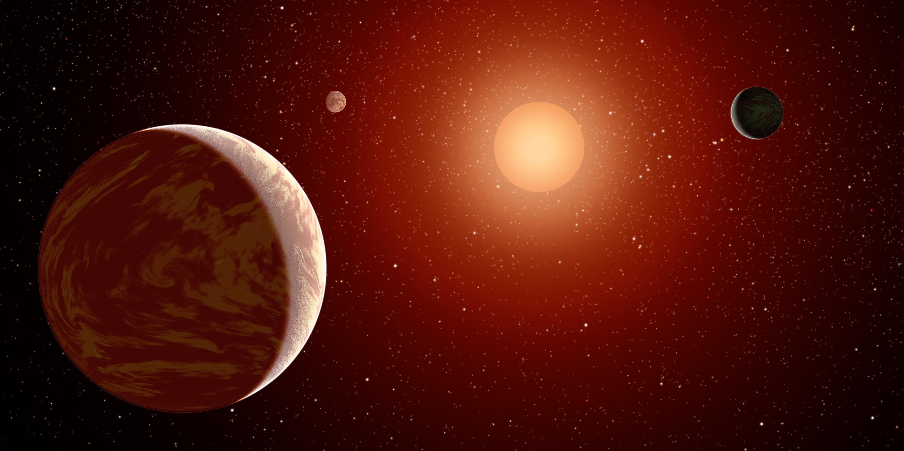 Hazy Orange Planets May Be Good Places to Live