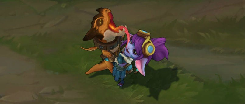 Tristana's New League Of Legends Skin Turns Her Rocket Launcher Into A Baby Dragon