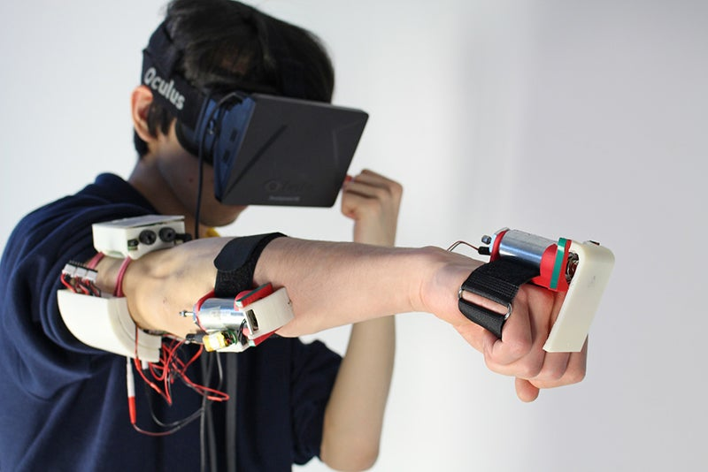 Getting Punched In Virtual Reality Will Soon Feel Real