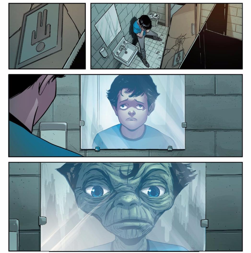 Little Clark Kent Thinks He's a Freak in Great New Superman Comic
