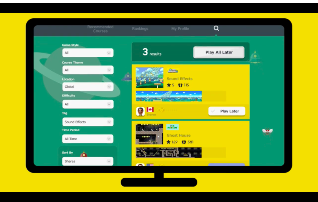 Mario Maker Is Getting A Better Way To Find Good Courses