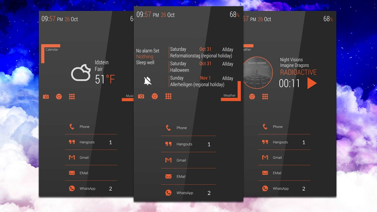 The Minimal Orange Home Screen Lifehacker Australia