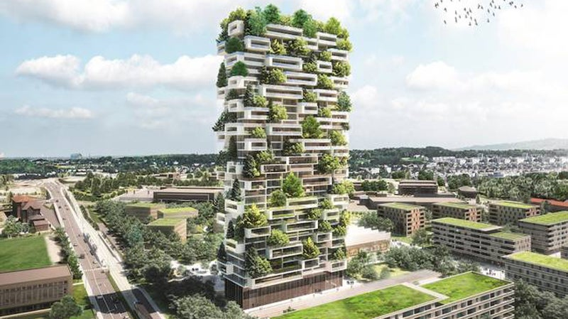 We Are All Doomed to Live in Vertical Forests Now