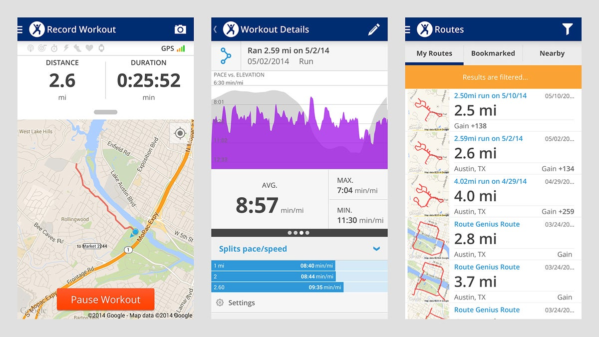 9 Free Apps To Get Fit Using Only Your Smartphone | Gizmodo ... Map My Workout on map my fitness android, map my travel, map my run, map my walk for fitness,